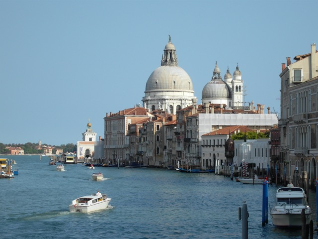 Henry James enjoyed his view of the Grand Canal when visiting Venice. Image © Saxon Henry.