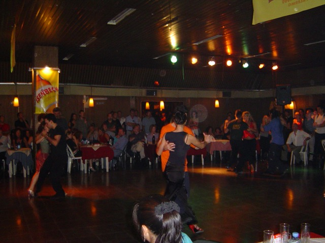 A Buenos Aires milonga where the locals go to dance tango. Image © Saxon Henry.
