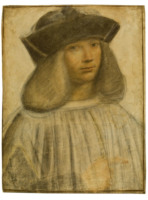 A portrait of Francesco Melzi by Giovanni Antonio Boltraffio, an apprentice of Leonardo da Vinci's who was like a son to the maestro. Image courtesy WikiMedia.