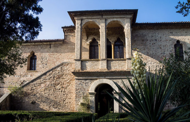Petrarch's former residence in Italy