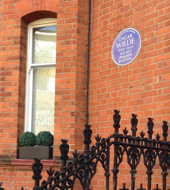 Oscar Wilde Home in London on Tite Street. He turned the yellow world on its ear. Image © Saxon Henry.