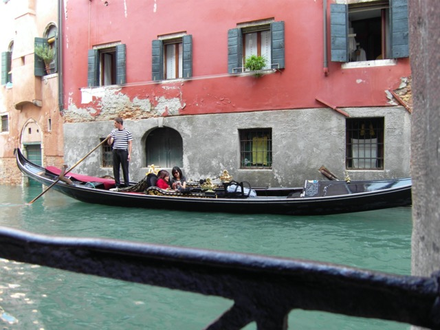 Scenes like Henry James composed still exist in Venice. Image © Saxon Henry.