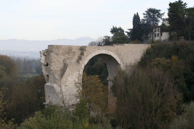 The Ponte d'Augusto at Narni.
