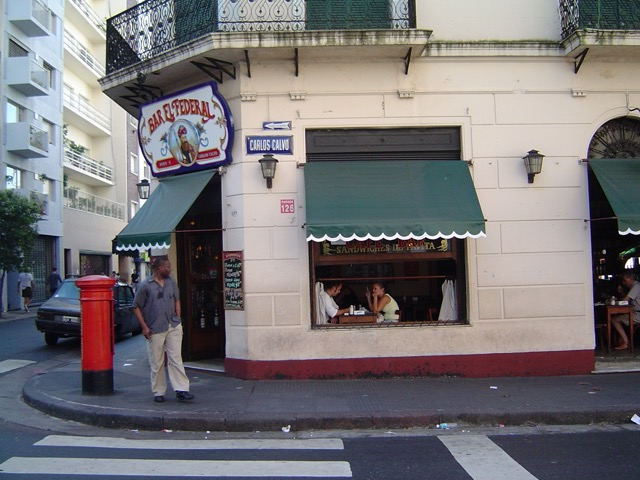 A typical café in Buenos Aires. Image © Saxon Henry.