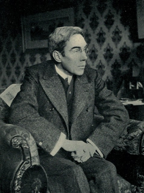 A photograph of Henry Harland in 1903 published by L.C. Page and Company. Even the fogs in London were yellow. Image courtesy WikiMedia.