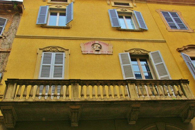 Petrarch's Former Home in Parma.