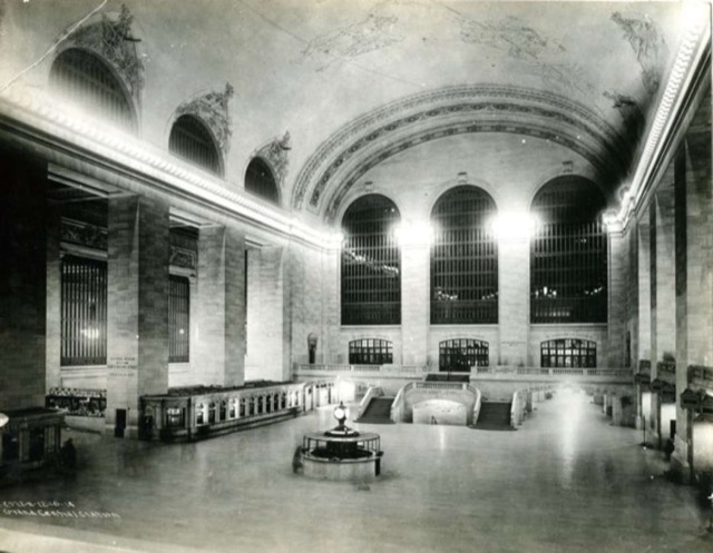 How Grand Central Terminal looked when Millay arrived in NYC in 1913. Photo courtesy of MTA/Metro-North Railroad.