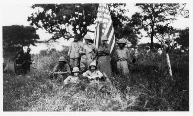 Theodore Roosevelt on safari