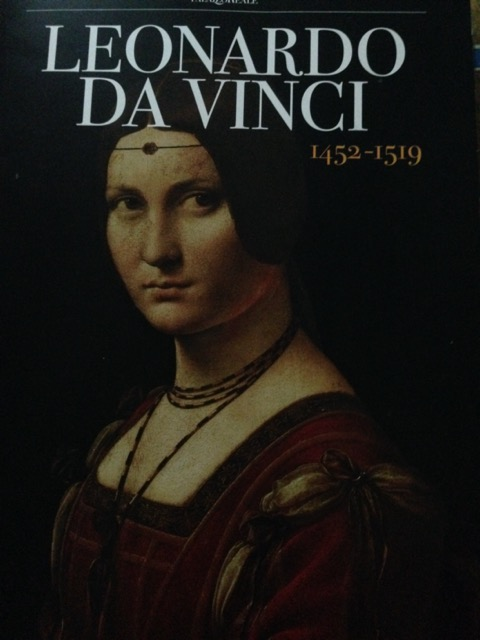 """The dossier handed out to the press for the exhibition """"Leonardo 1452-1519"""" at the Palazzo Reale in Milan. Image © Saxon Henry."""
