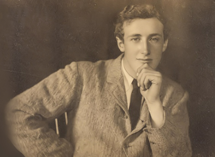 Denys Finch Hatton during his years as a student.