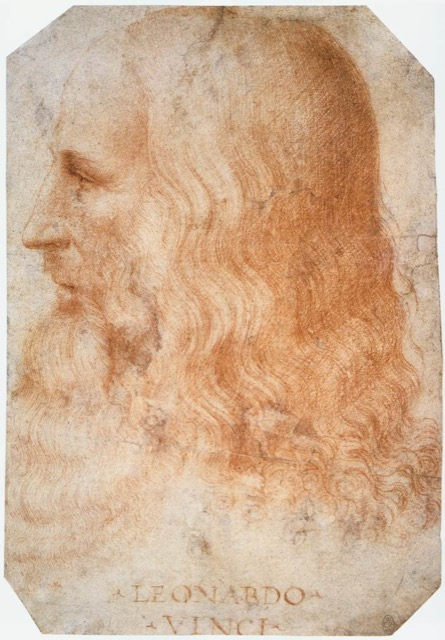 Francesco Melzi's Portrait of Leonardo. Image courtesy WikiMedia.
