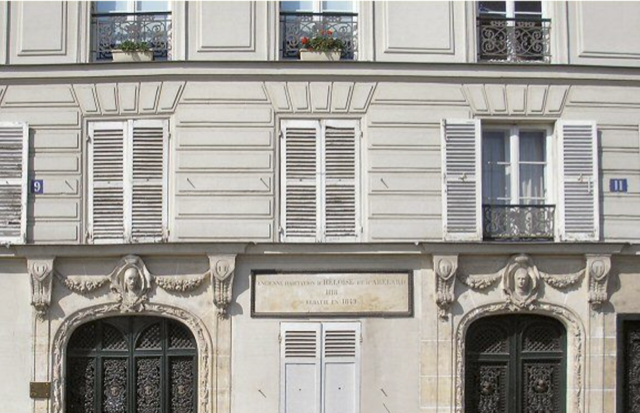 Maison Heloise and Abelard: The address of the home once owned by Héloïse's uncle; the home where her romance with Abélard began.