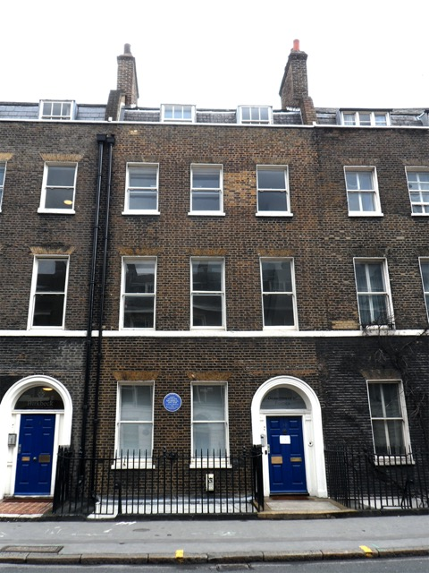 Gower Street in Bloomsbury where the Morrell's lived after Garsington. Image courtesy WikiMedia and Spudgun67.