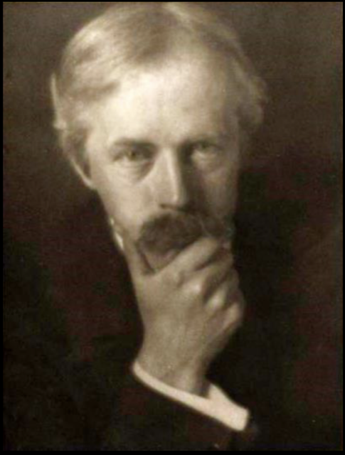 "Arthur Symons, the editor of ""The Savoy,"" and a poet, critic and translator, in 1906. Image courtesy WikiMedia."