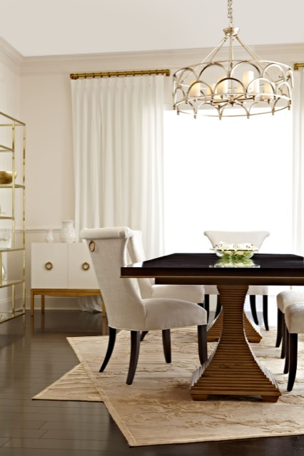 Bernhardt's Jet Set Dining Table.