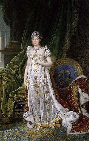 Marie Louise of Austria, crowned