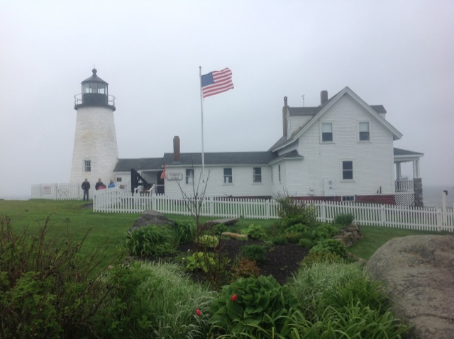 Pemaquid LightHouse by Saxon Henry.