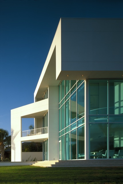 "Sarasota architect Guy Peterson's Theisen Residence from my book ""Four Florida Moderns."""