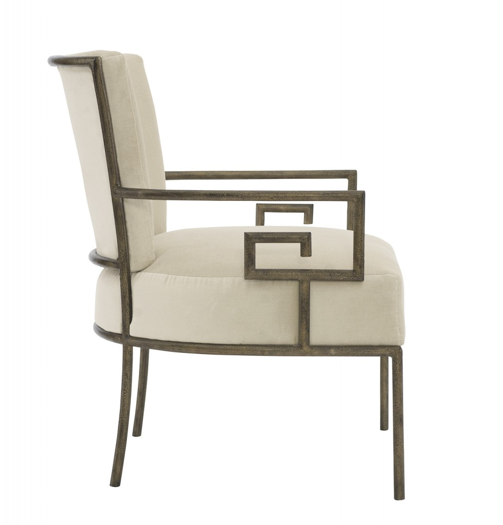 Bernhardt's Skylar chair, an example of harmony and proportion.