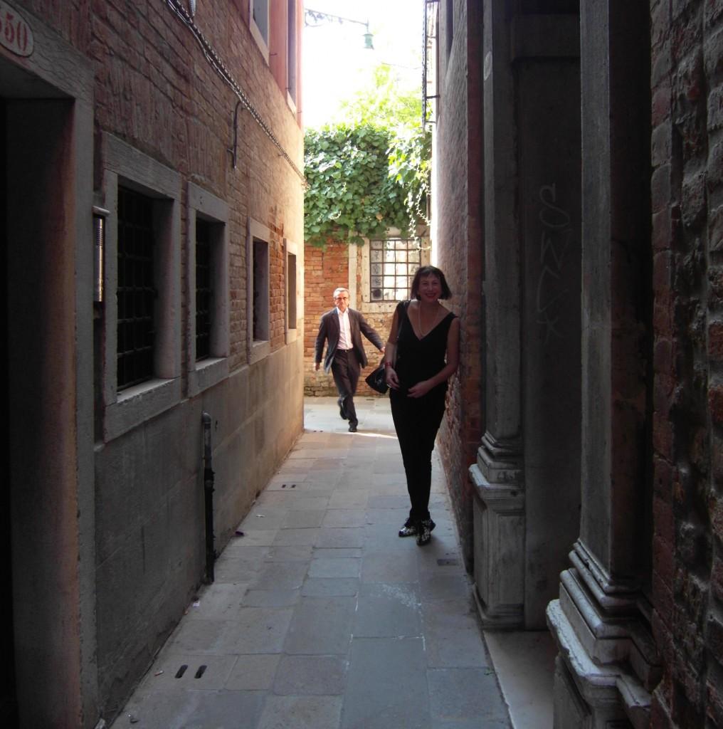 JoAnn Locktov in Venice by Saxon Henry