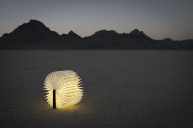 The Lumio book of light designed by Max Gunawan.