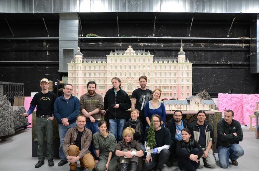 Grand Budapest Hotel's exterior inventors