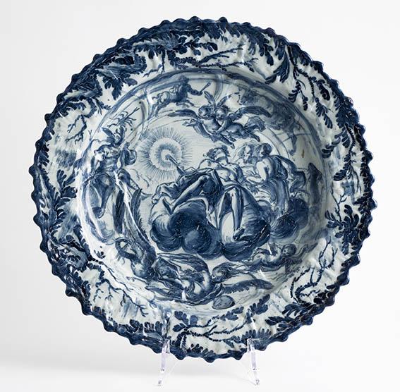 6420 Guidobono Buidobono Piatto Reale at Museo della Ceramica