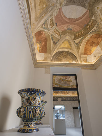Priceless treasures at the Museo della Ceramica.