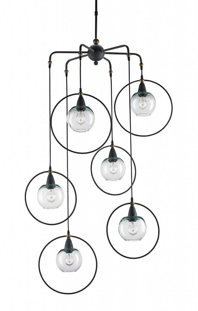 The Moorgate Multi Pendant by Currey & Company