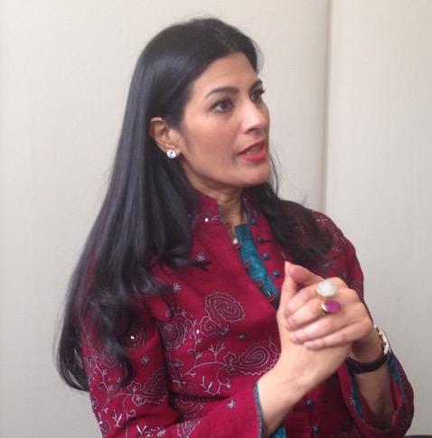 Dipali Goenka, an executive with Welspun