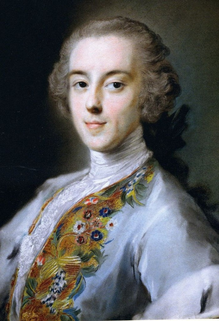 Horace Walpole portrait during his Grand Tour.