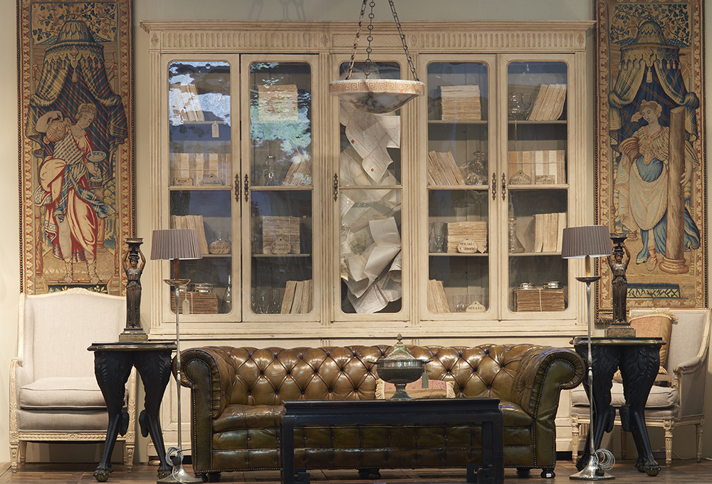 The Magus Antiques booth at the Decorative Fair, April 2015.