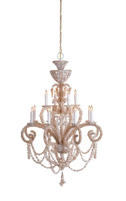 Currey and Company's Grotto Chandelier