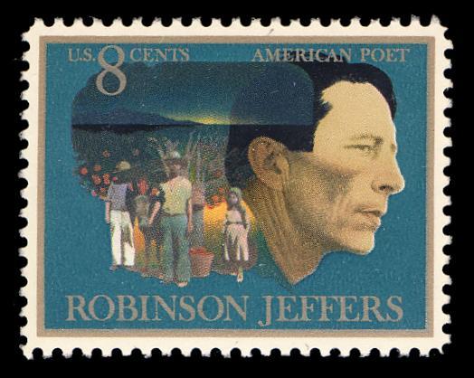 Robinson Jeffers postage stamp