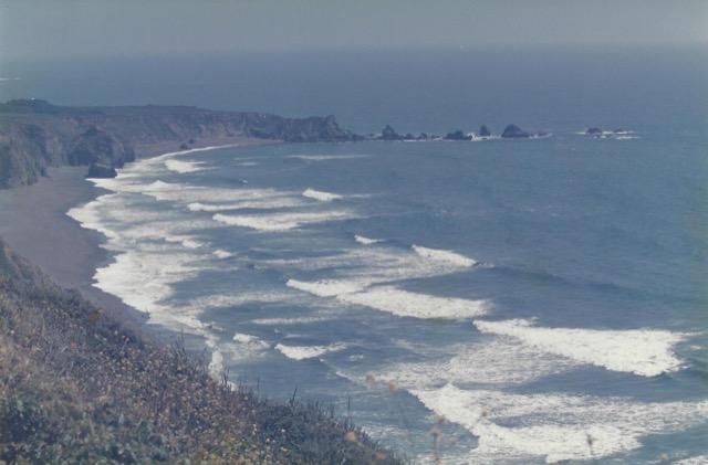 Waves Coming Ashore near Carmel