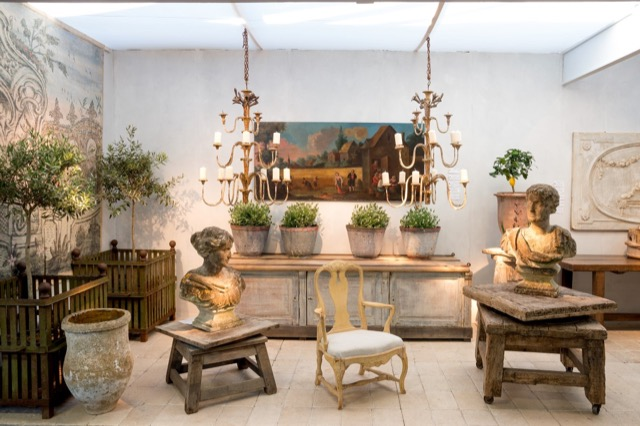 Time-honored garden furnishings at The Decorative Fair