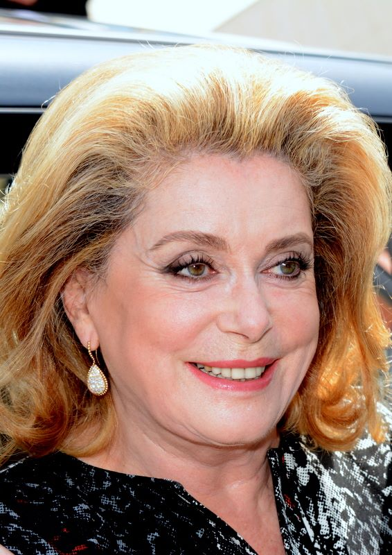 Catherine Deneuve in Cannes