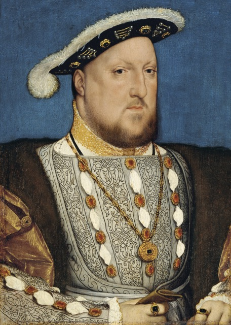 Henry VIII by Hans Holbein the Younger, the picture of chivalry
