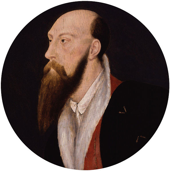 A portrait of Sir Thomas Wyatt