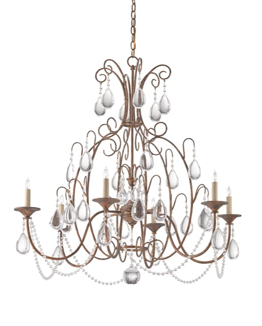 Currey and Company's Cinderella Chandelier