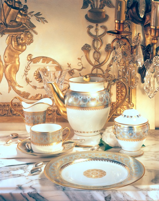 The Elysee pattern by Bernardaud.