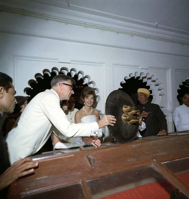 Jackie Kennedy at Fateh Prakash Palace