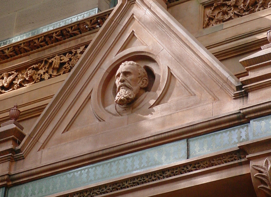 Michelangelo bust on the National Arts Club