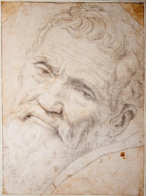 A portrait of Michelangelo by Daniele da Volterra
