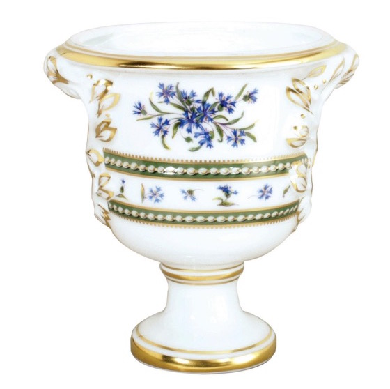 The Medici vase in Bernardaud's Marie Antoinette pattern