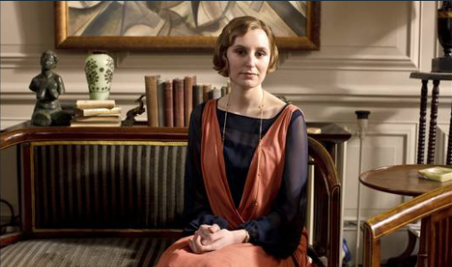 Lady Edith Crawley in London flat