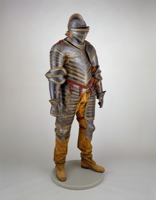 Tudor Era Field Armor of Henry VIII at the MET