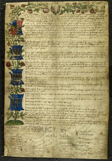 King Henry VIII drafted jousting rules at the birth of his son
