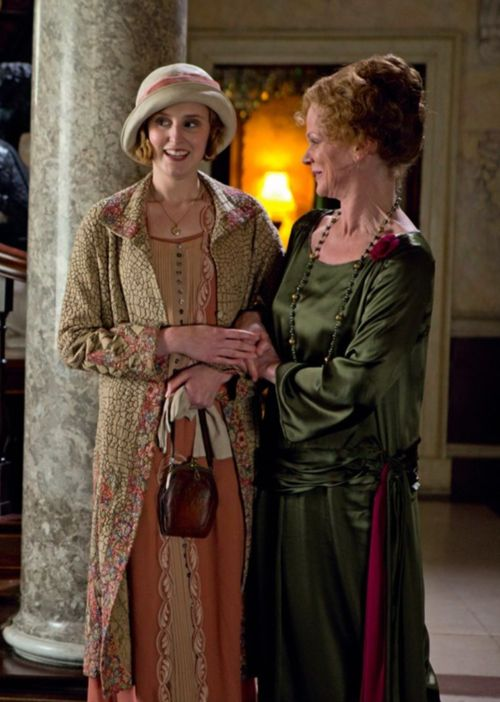 Edith Crawley and Rosamund Painswick
