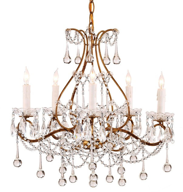 Currey and Company's Paramour chandelier